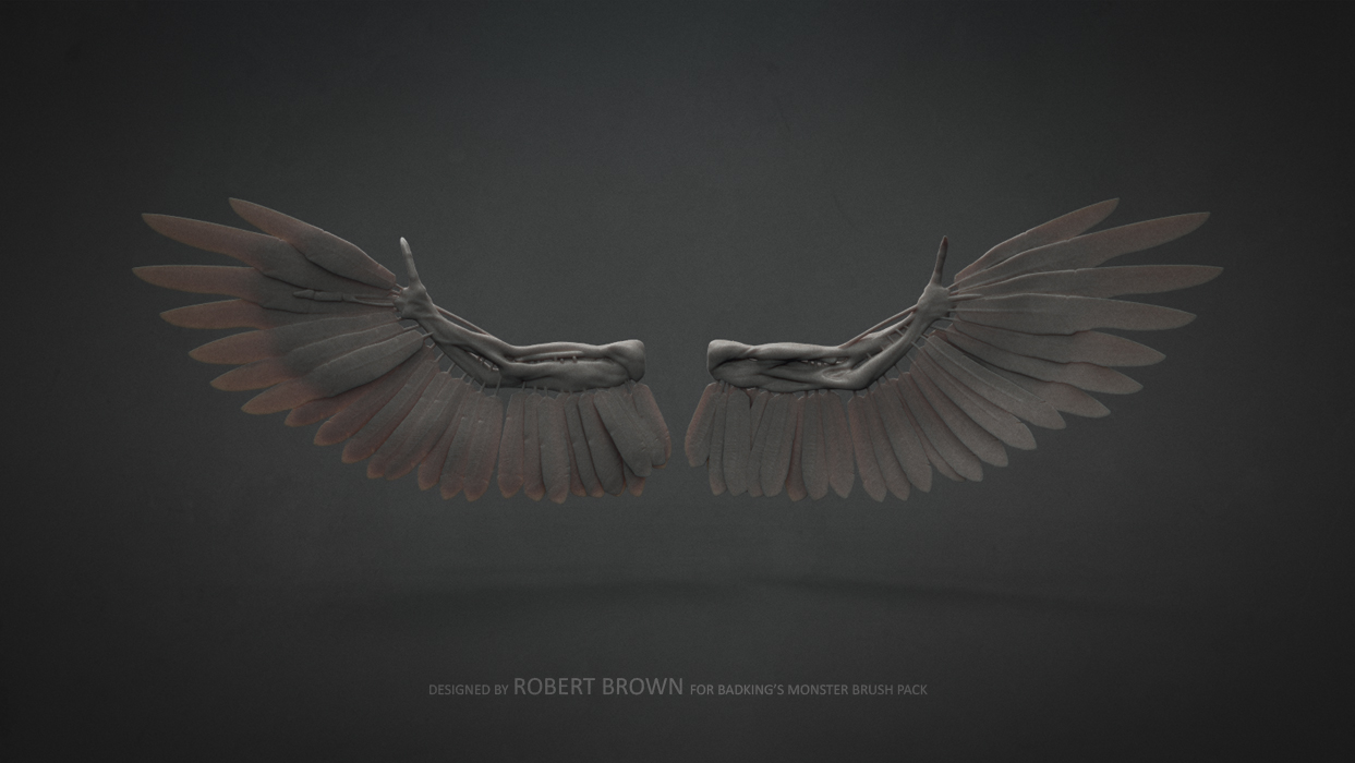 BadKing_Monster_Robert_Brown_Wings
